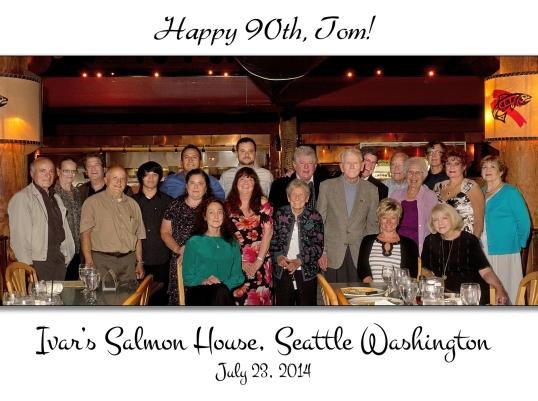 Tom's 90th Birthday
