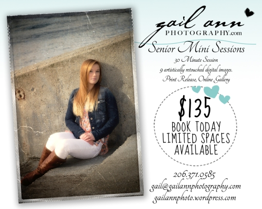 Gail Ann Photography Senior special 2015